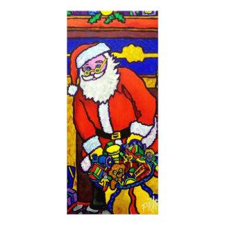 Christmas Santa Claus Rack Cards