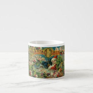 Christmas Santa Claus Vintage St Nick Espresso Cup