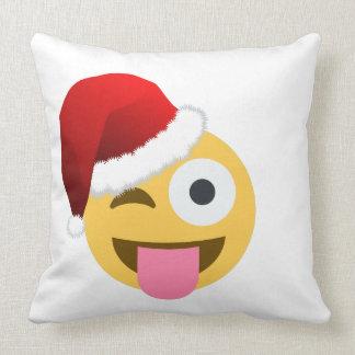 Throw Pillows Elegant : Christmas Emoji Pillows - Decorative & Throw Pillows Zazzle