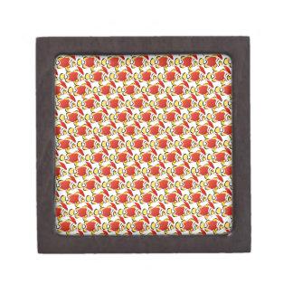 Christmas Santa Clownfish Fish Pattern z Gift Box