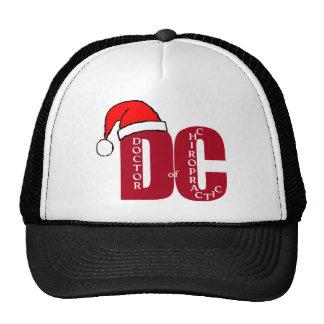 CHRISTMAS SANTA DC DOCTOR  CHIROPRACTIC  MEDICINE TRUCKER HAT
