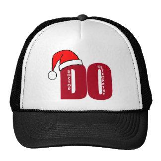 CHRISTMAS SANTA DO - DOCTOR OF OSTEOPATHY TRUCKER HAT