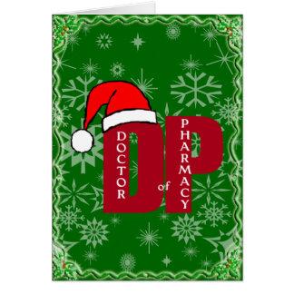 CHRISTMAS SANTA DP - DOCTOR OF PHARMACY GREETING CARD