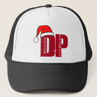 CHRISTMAS SANTA DP - DOCTOR OF PHARMACY TRUCKER HAT