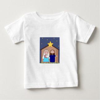 Christmas Santa Faith Love Peace Office Destiny Baby T-Shirt