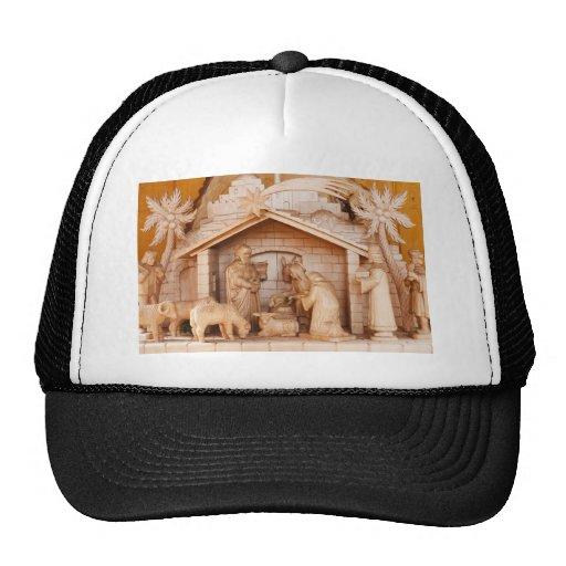 Christmas Santa Faith Love Peace Office Destiny Trucker Hat