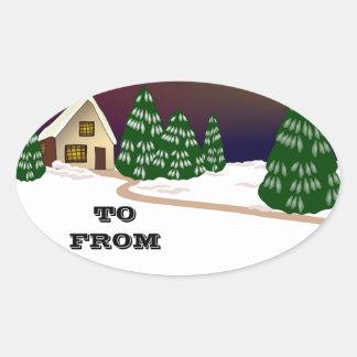 Christmas Santa Faith Love Peace Office Destiny Stickers
