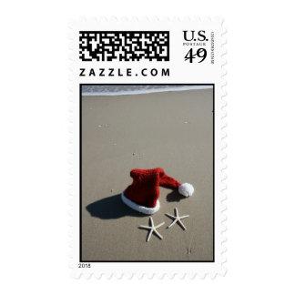 Christmas Santa Hat Postage