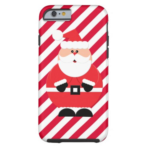 Christmas Santa Holiday iPhone 6 tough case