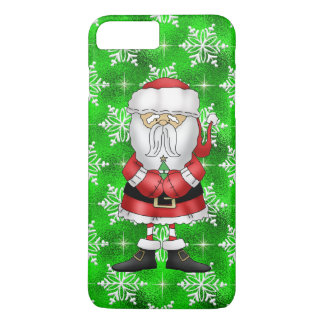 Christmas Santa iPhone 7 plus barely there case