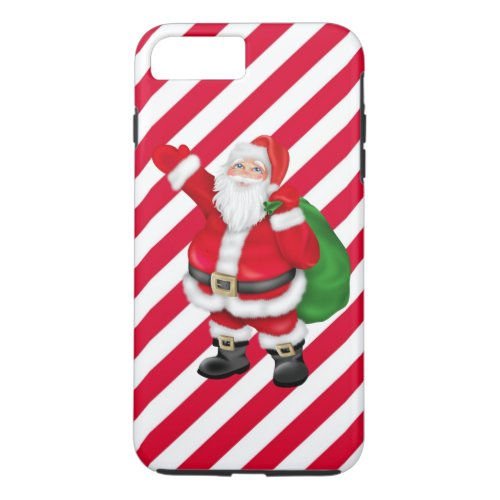 Christmas Santa iPhone 7 plus tough case
