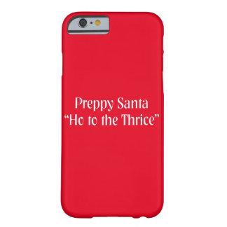 Christmas Santa Joke.  Funny Holiday Saying. Barely There iPhone 6 Case
