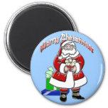 Christmas Santa Magnet