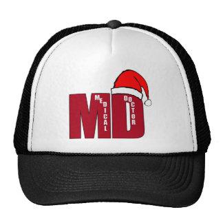 CHRISTMAS SANTA MD - MEDICAL DOCTOR TRUCKER HAT