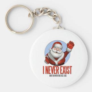 Christmas: Santa Never Exist Keychain
