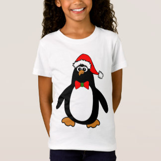 Christmas Santa Penguin T-Shirt