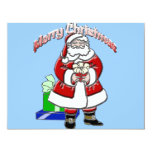 Christmas Santa Personalized Invitations