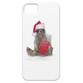 Christmas Santa Raccoon Bandit iPhone 5 Case