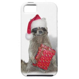 Christmas Santa Raccoon Bandit iPhone SE/5/5s Case
