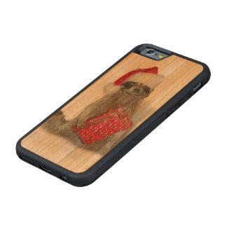 Christmas Santa Raccoon Bandit Carved® Cherry iPhone 6 Bumper