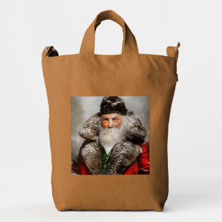 Christmas - Santa - Saint Nicholas 1895 Duck Bag