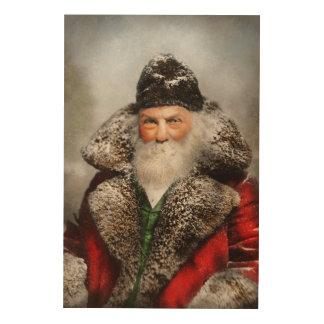 Christmas - Santa - Saint Nicholas 1895 Wood Wall Decor