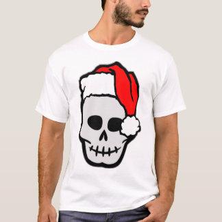 Christmas Santa Skull T-Shirt