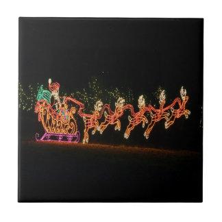 Christmas Santa Sleigh  2016 Tile