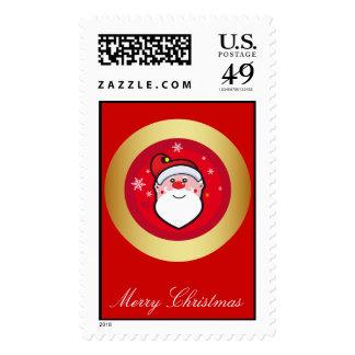 Christmas Santa Stamps