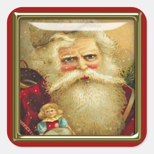 christmas santa stickers