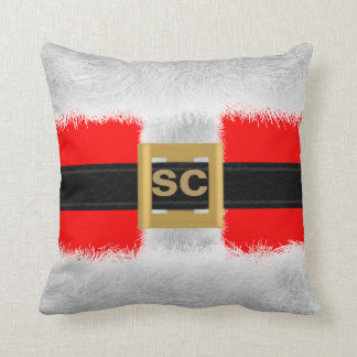 Christmas Santa Suit Double Sided Custom Pillow