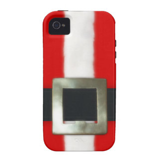 Christmas Santa Suit Vibe iPhone 4 Covers