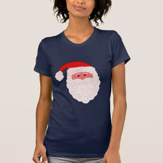 Christmas Santa's face festive t-shirt