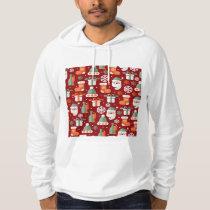 Christmas Santa's Gifts Pattern Hoodie
