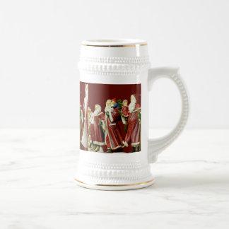 Christmas Santas Saint Nick Holiday Gifts Beer Stein