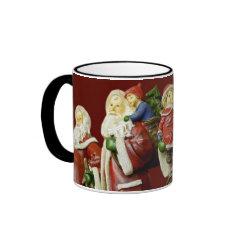 Christmas Santas Saint Nick Holiday Gifts Mugs
