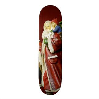 Christmas Santas Saint Nick Holiday Gifts Skate Board