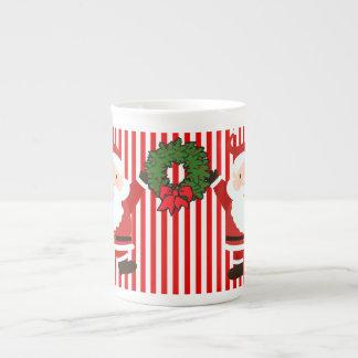 Christmas Santas Tea Cup