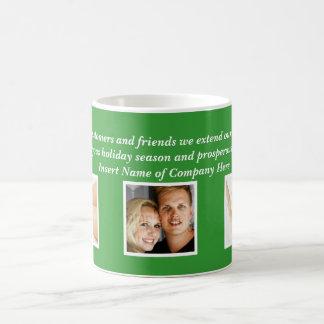 Christmas sayings Xmas Corporate photo Coffee Mugs
