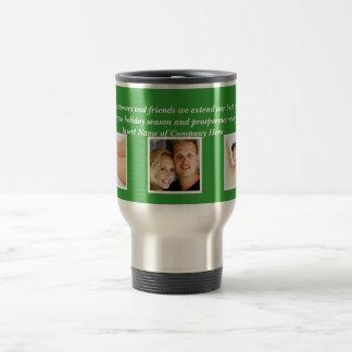 Christmas sayings Xmas Corporate photo Travel Mug