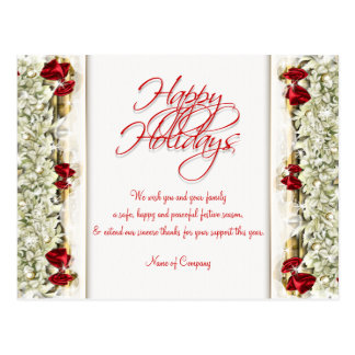 Christmas sayings Xmas Corporate thanks Post Cards