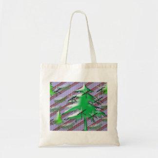 Christmas scene bags