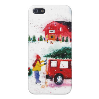 Christmas Scene Case For iPhone 5