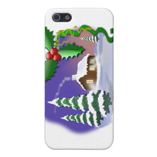 Christmas Scene iPhone 5 Cover