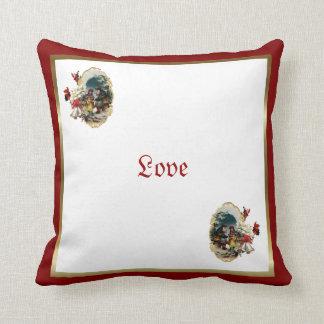 Christmas Scene Love Pillow