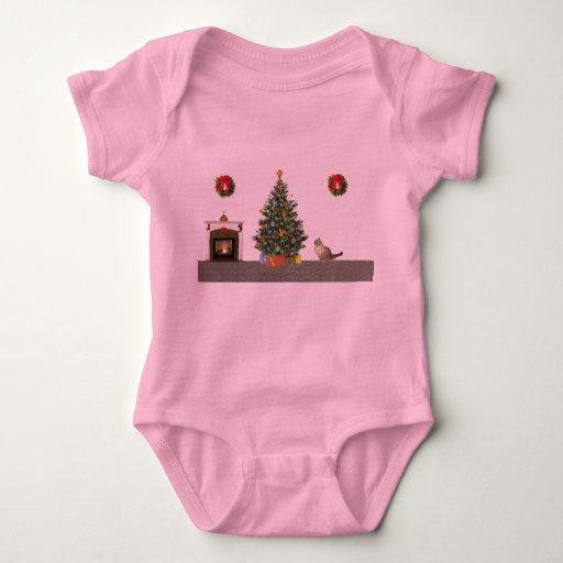 Christmas scene shirt