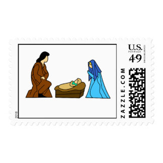 Christmas Scene Stamps