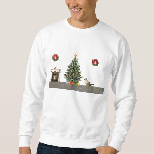 Christmas scene sweatshirt