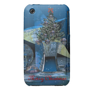 Christmas scenery with Text iPhone 3 3G/3GS case iPhone 3 Case