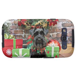 Christmas - Schnauzer - Fergie Galaxy SIII Cover